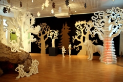 """Exposition """"Civaux terre de légendes""""  au Musée Archéologique de Civaux 2018."""