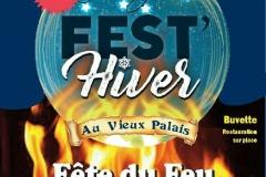 Affiche du festival Fest'Hiver 2018.