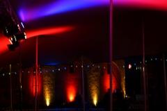Éclairage de la tente principale et de l'Octogone - FEST'Hiver 2019 - Montmorillon (86)