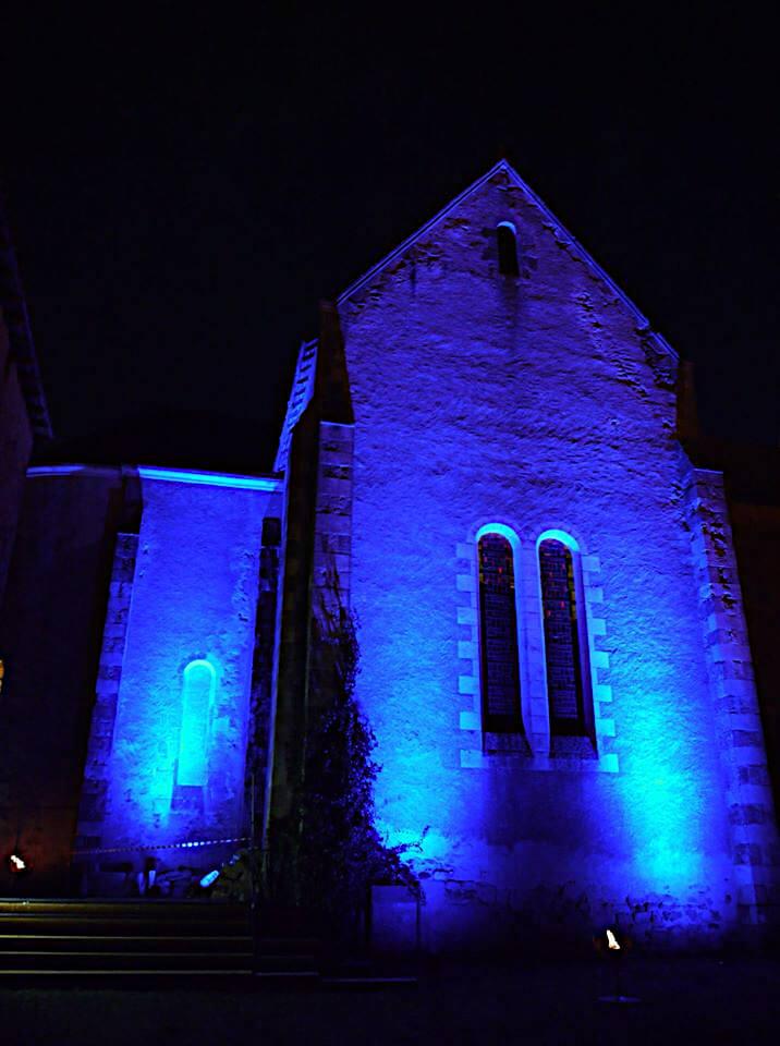 Chapelle Saint-Laurent - Transept nord -Maison Dieu Montmorillon - Fest'hiver 2020 - Polisto