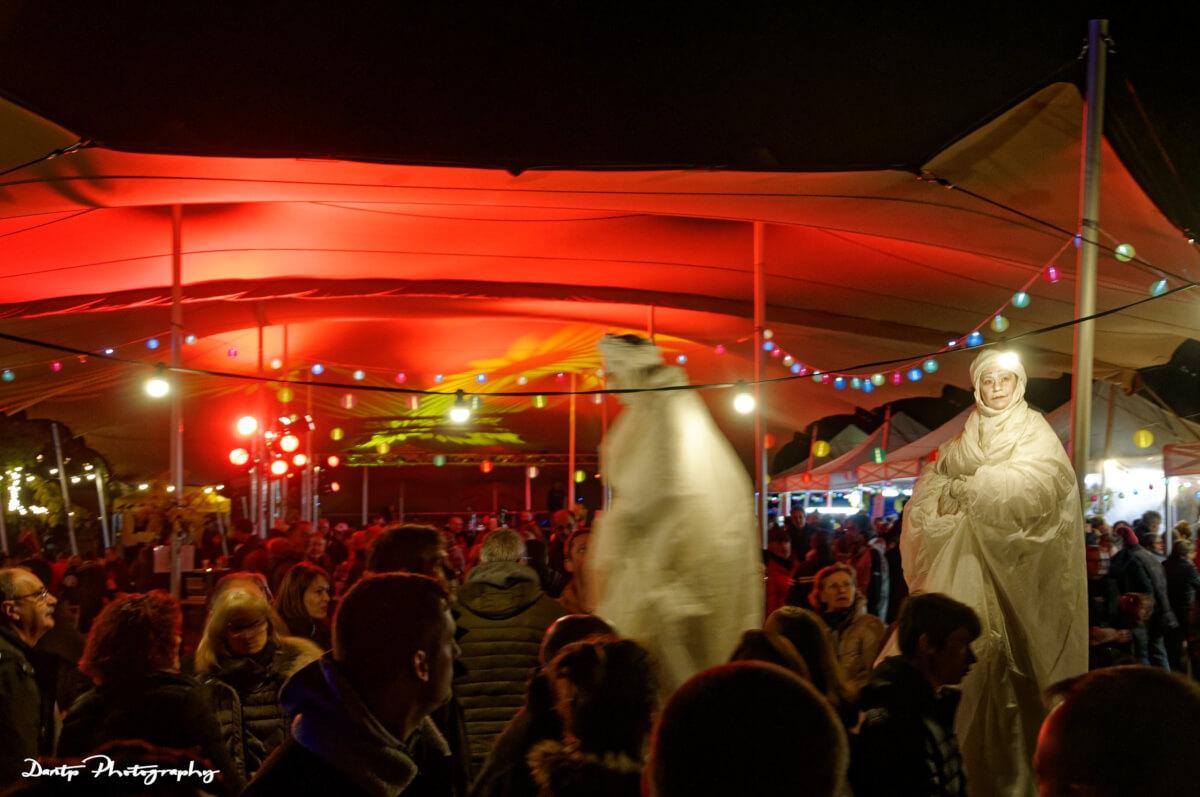 Compagnie Les Quidams à la Maison Dieu - Montmorillon - Fest'hiver 2020 - Polisto