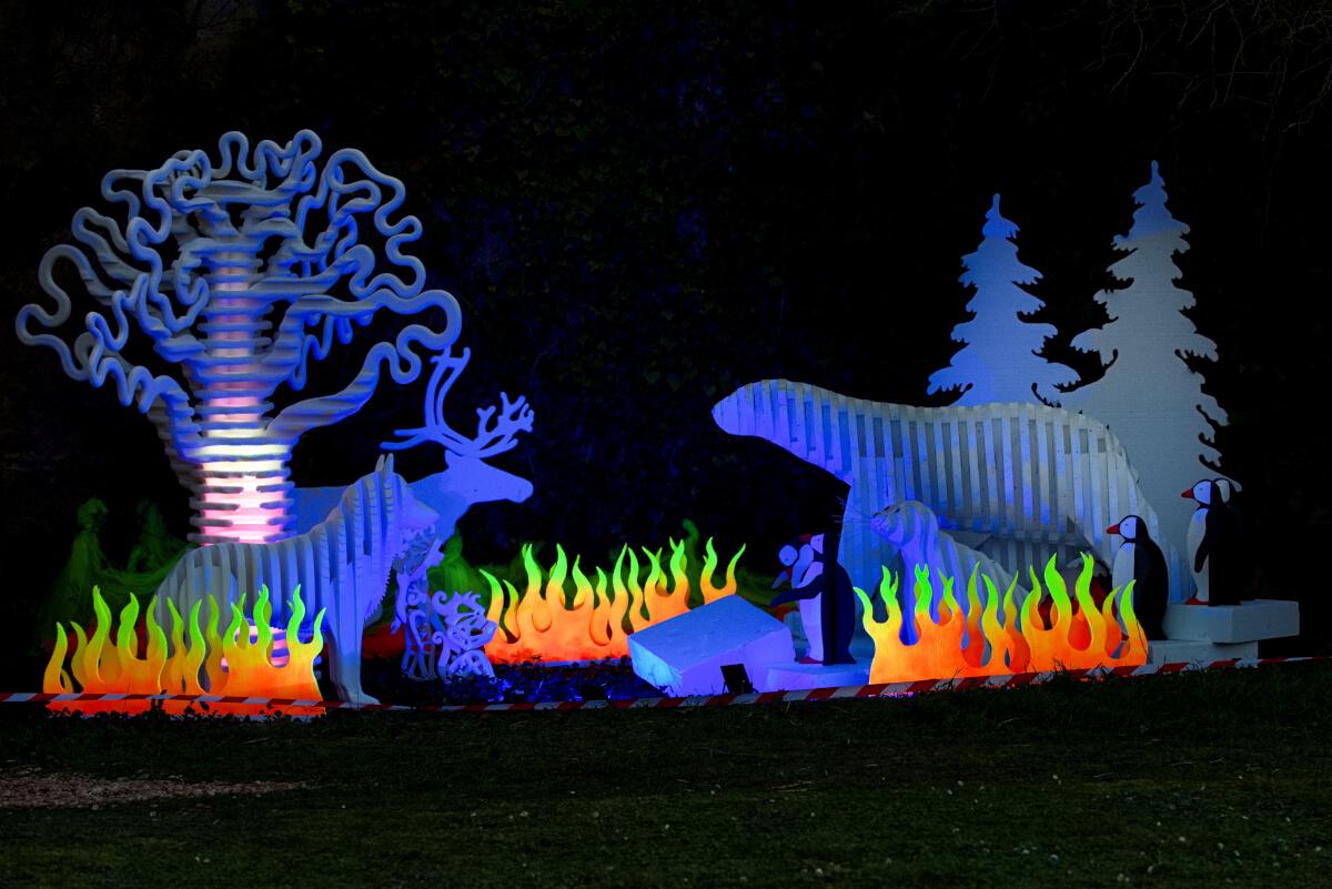 Maison Dieu Montmorillon - Fest'hiver 2020 - Sculptures de Polisto - Polisto