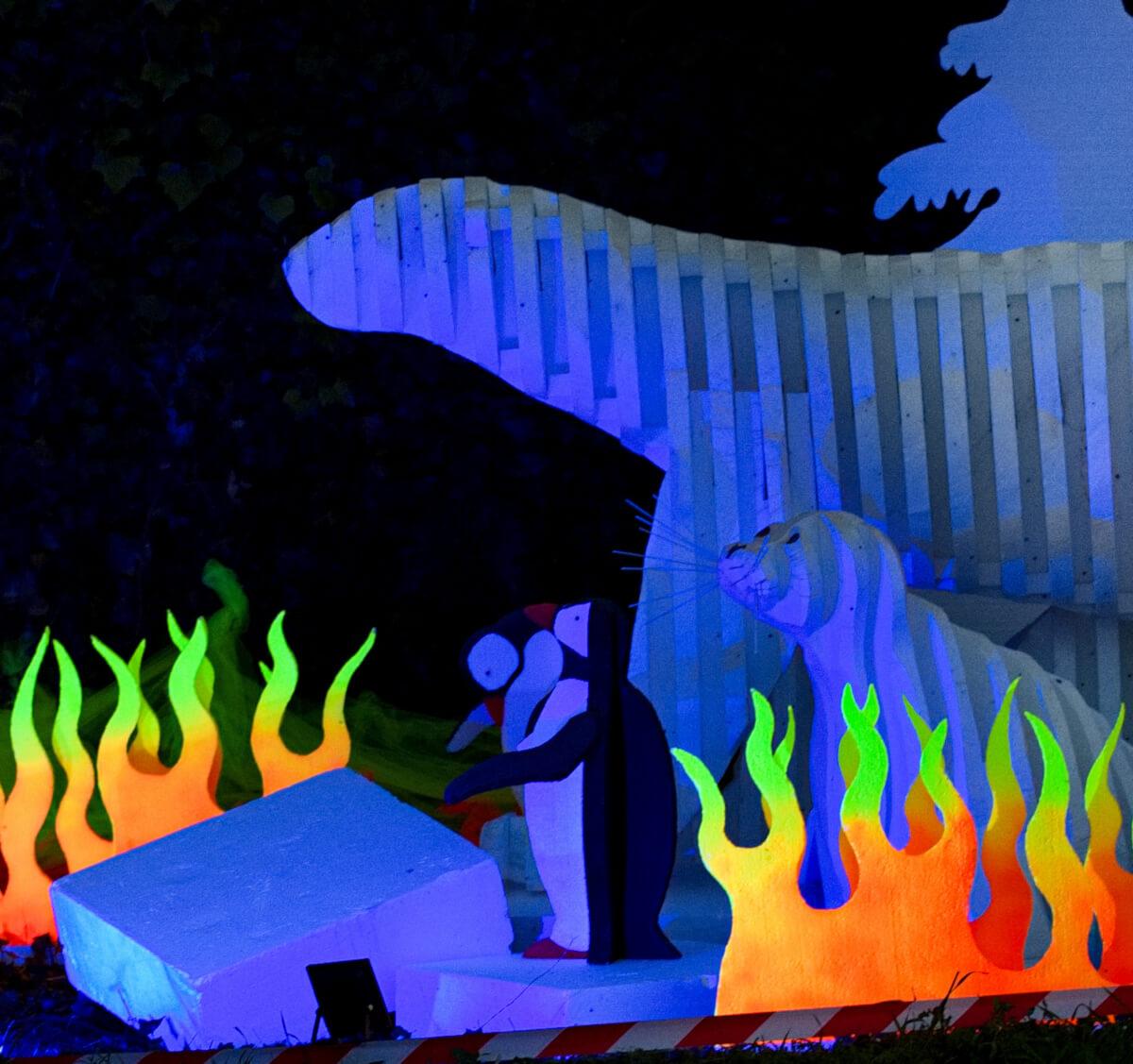 Maison Dieu  Montmorillon - Fest'hiver 2020 - Sculptures de Polisto