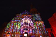 Mapping vidéo de la Chapelle Saint-Laurent par Histoire 2 Voir - Fest'hiver 2020 - Polisto