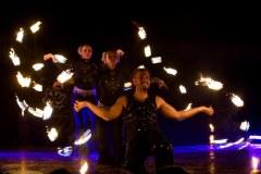 Compagnie Mandalights à la Maison Dieu - Montmorillon - Fest'hiver 2020 - Polisto