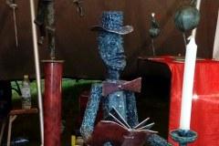 Sculpture de Vital Angot -Maison Dieu - Montmorillon -  - Fest'hiver 2020 - Polisto