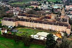 Maison Dieu Montmorillon - Vue aerienne - Fest'hiver 2020 - Polisto