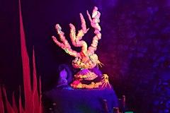 Sculpture de récif corallien - Polisto - Festival Les Impro'blables 2019 - CPA - Lathus-Saint-Rémy (86)