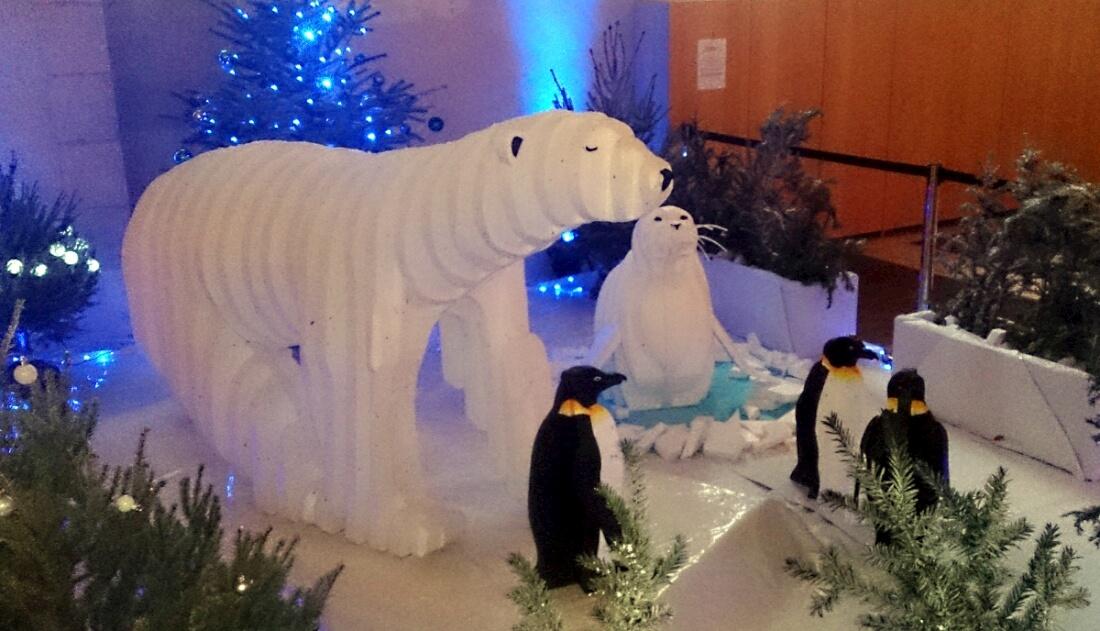 Installation Polar Sign - Polisto 2014
