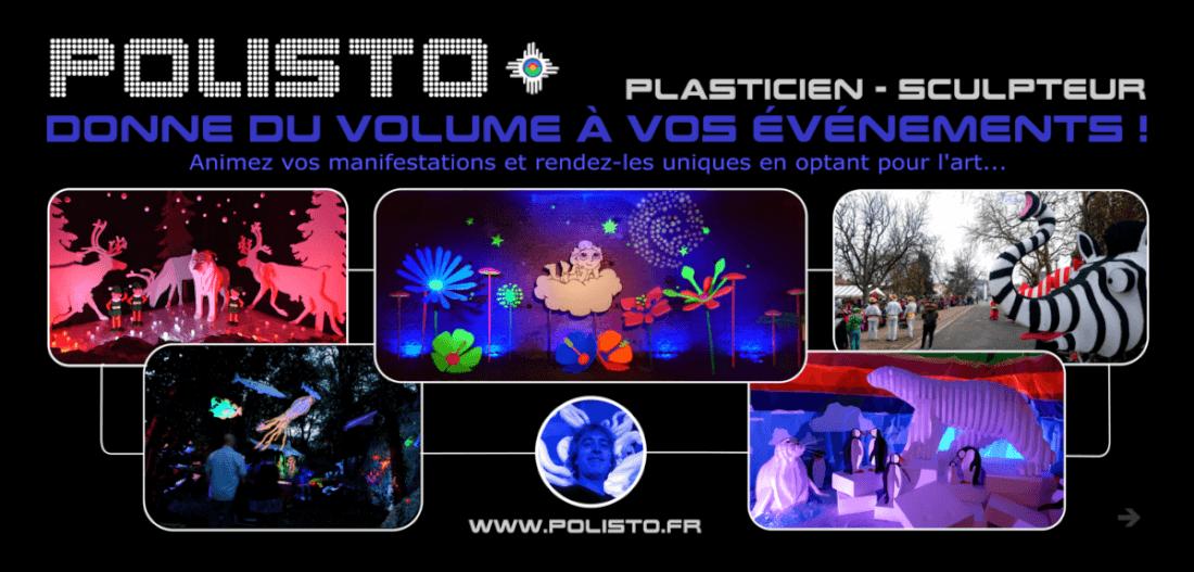 Polisto donne du volume à vos événement !