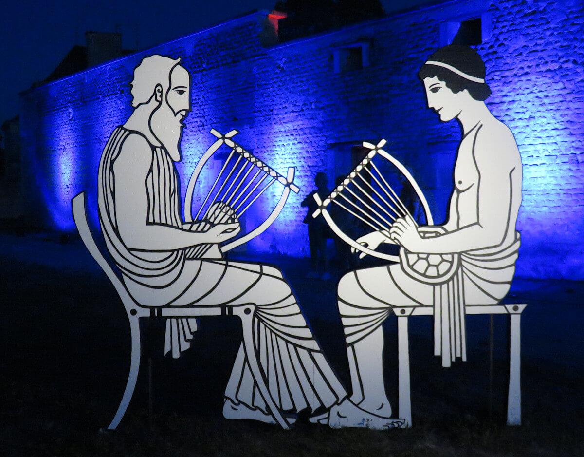 Musiciens grecs - Soirée Antique 2019 - Tours Mirandes.