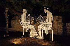 Musiciens grecs - Soirée Antique 2020 - Tours Mirandes.