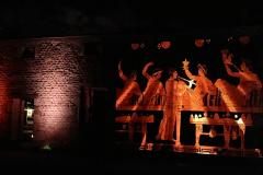 Soirée Antique 2020 - Tours Mirandes - Videoprojection sur le Mur Antique.