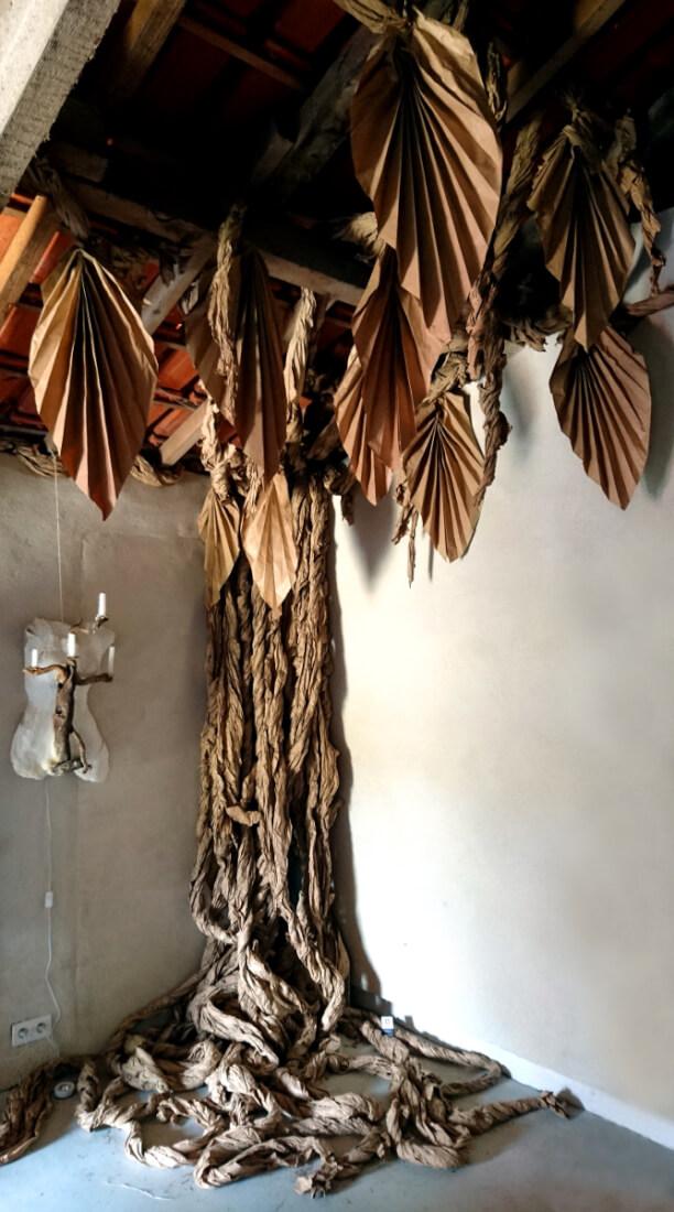 Paper Tree II - Festival « Sous les étoiles » 2017 – Rillé – Jouhet (86)