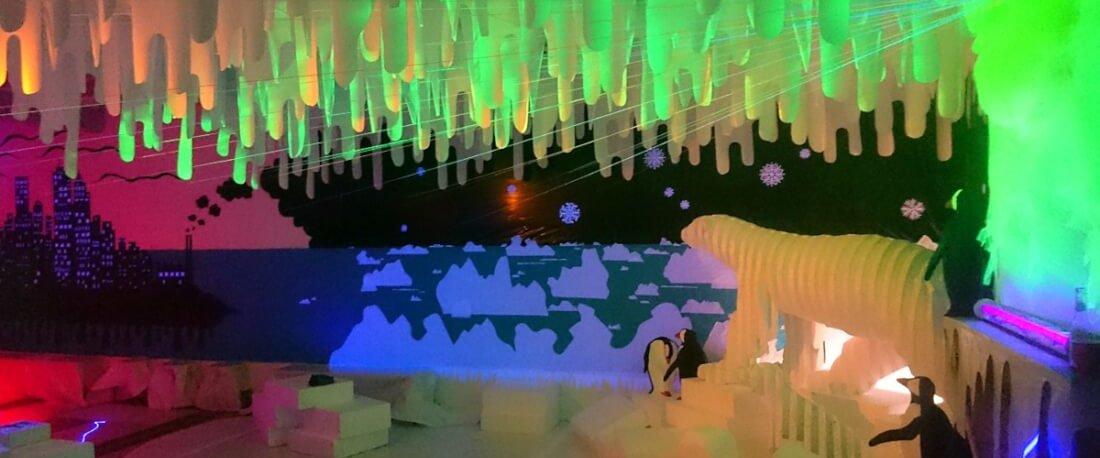 Installation polaire sur le réchauffement climatique - Polisto - Décembre 2017