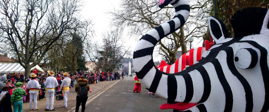 Carnaval de Persac (86) le 30 mars 2018.