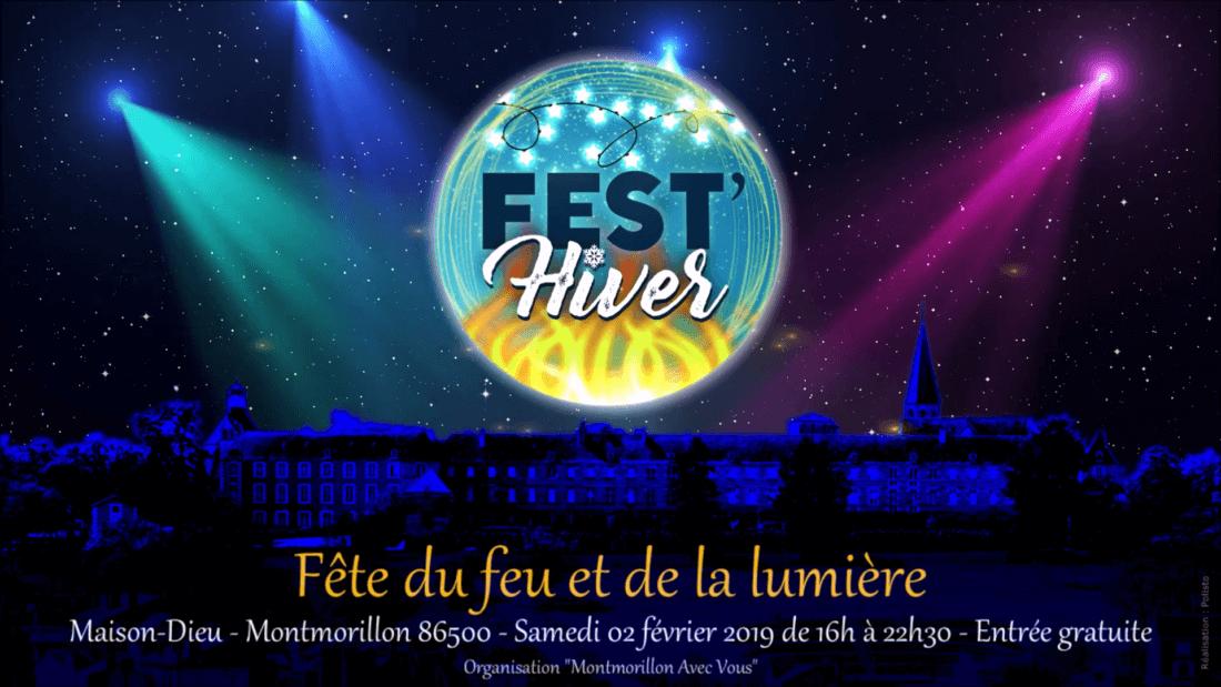 Fest'Hiver 2019 - Fête du feu et de la lumière - Maison Dieu - Montmorillon