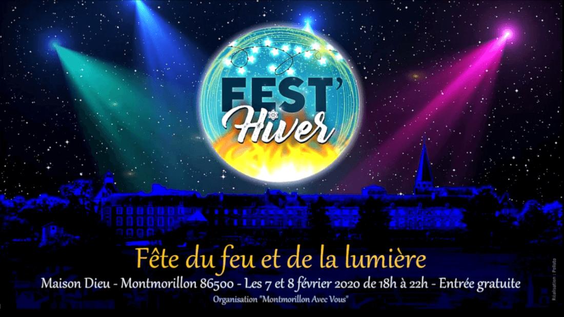 Fest'Hiver 2020 - Fête du feu et de la lumière - Maison Dieu - Montmorillon (86)