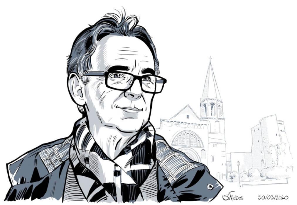 Fest'hiver 2020 - Illustration de Serge Fiedos - Portrait de Guy Gévadan
